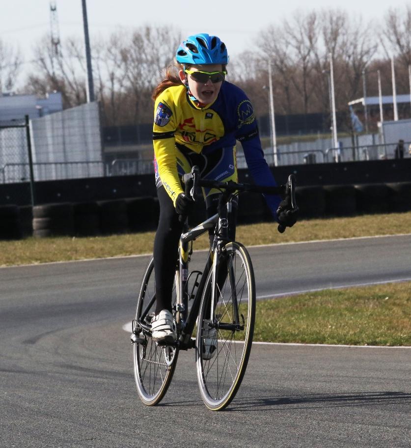 Celina Polz fuhr ein ganz starkes Rennen