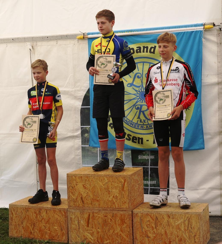 Gregor wird U15- Brockenkönig