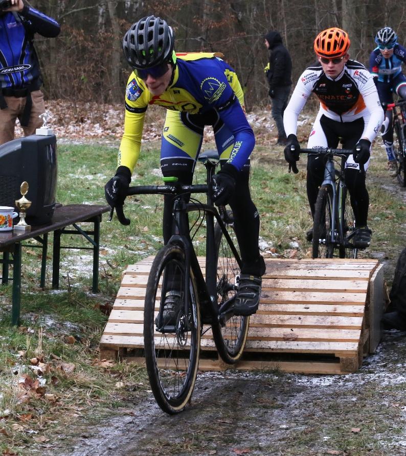 ohan macht nach langer Krankheitspause sein erstes Rennen beim Cross in Erfurt