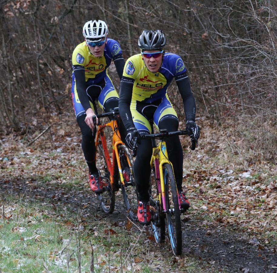 Tommy und Pascal beim Eliterennen