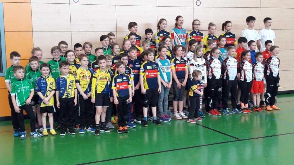 Die Teilnehmer in Lostau