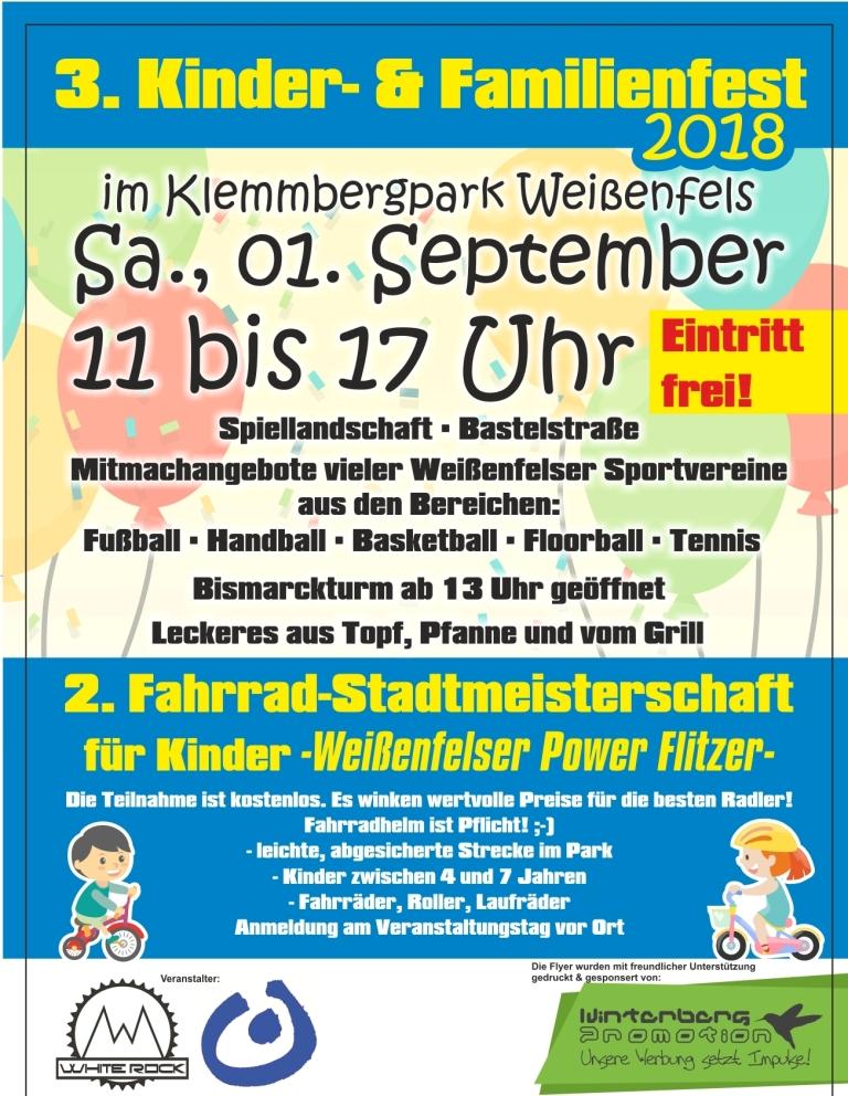 3.Kinder- und Familienfest @ Klemmberg Weißenfels