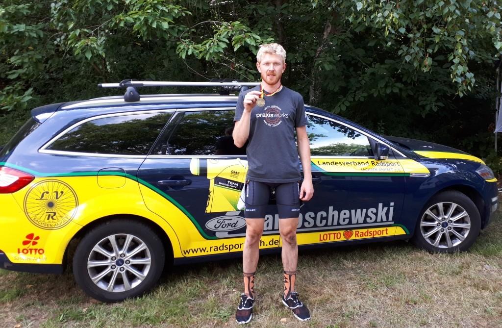 Christopher holt Bronze für White Rock und Sachsen- Anhalt