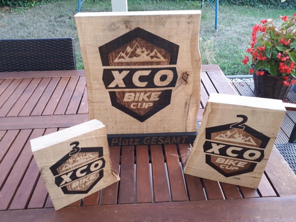 Die XCO- Bikecup Gesamtwertungspokale