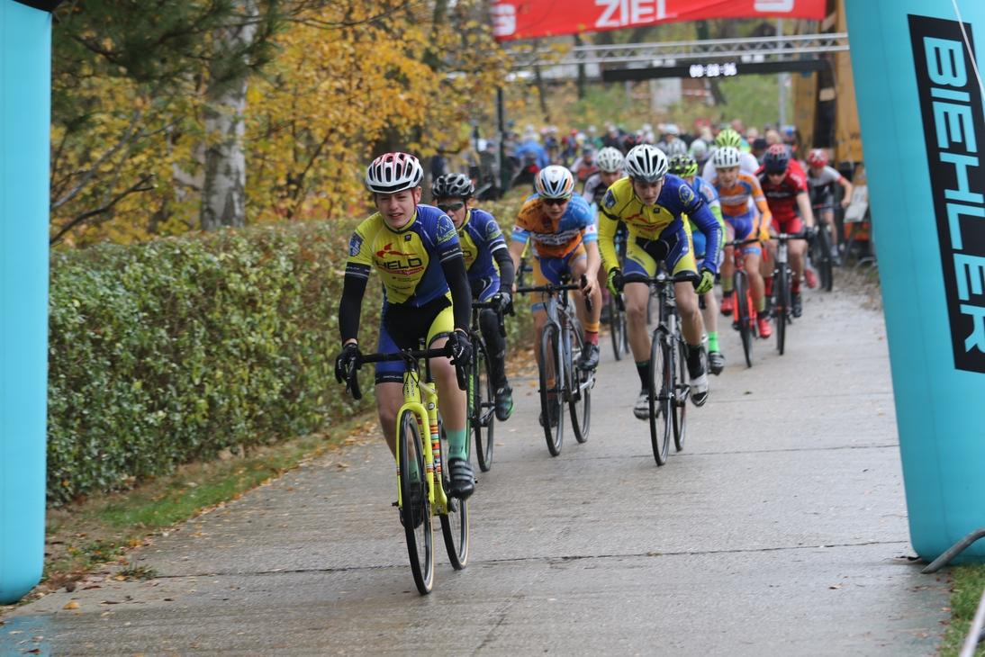Start-Zielsieg für Gregor (U17)