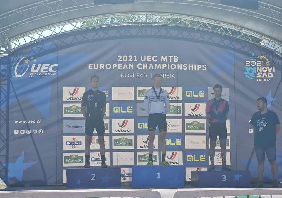 Christopher wird MTB-Europameister der Masters !